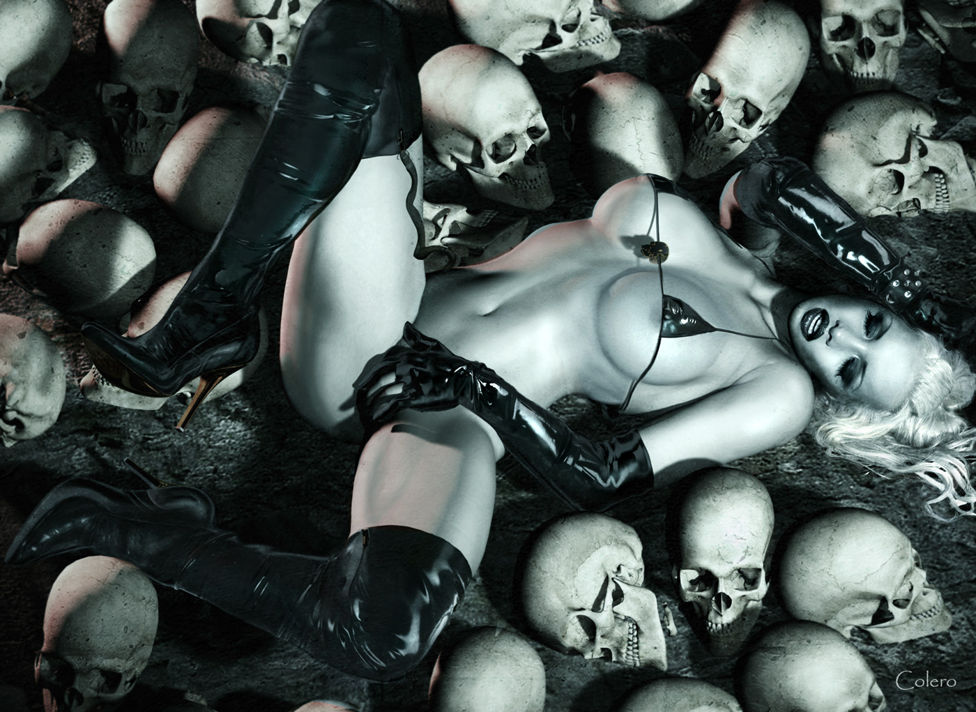 Lady death sex porn hentai housewives